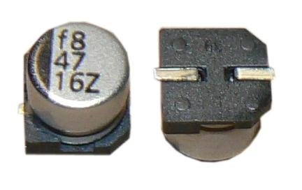 100uF 16V Electrolytic Capacitor 85C