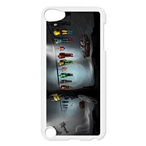 All Avengers Weapons On the Line Custom Design Apple Ipod Touch 5th Hard Case Cover phone Cases Covers