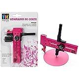 Compasso para Corte Círculos Toke e Crie Rosa - 386 - DI006