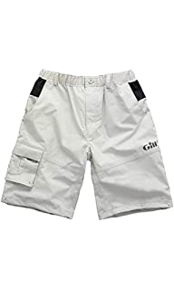 7d0358160264 Gill Waterproof Sailing Shorts in Silver - Mens - Breathable and Hard  Wearing - Compatible Short