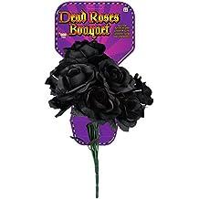 Forum Novelties Dead Rose Bouquet, Black
