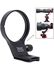 iShoot 82mm Lens Collar Tripod Mount Ring Compatible with Sigma 100-400mm f/5-6.3 DG DN OS and Sigma 105mm f/1.4 DG HSM Art, Lens Support Holder Bracket Bottom is Arca-Swiss Fit Quick Release Plate