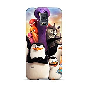 Samsung Galaxy S5 KGV18171fVnU Provide Private Custom Colorful Madagascar 3 Skin Shock-Absorbing Hard Phone Cases -SherriFakhry