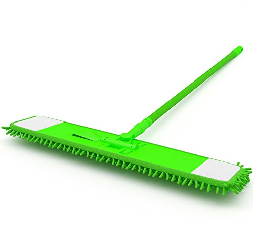 Microfiber Mop Hardwood Floor Laminate Cleaner Duster Sweeper All Surface Floor with Extendable Handle