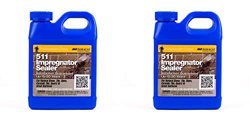 Miracle Sealants QT SG 511 Impregnator Penetrating Sealers, Quart 2-Pack