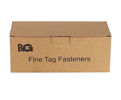 PAG 10000pcs 2'' Fine Tagging Barbs Fasteners for All Fine Pricing Gun, 100pcs/clip, Clear by PAG