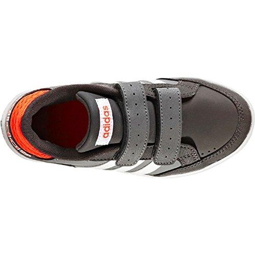 Adidas - Hoops Cmf C - AQ1656 - Farbe: Weiß-Grau-Orangefarbig - Größe: 28.0 hcaowh5Mex