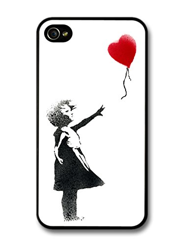 Banksy Balloon Girl Street Art iPhone 4 4S case