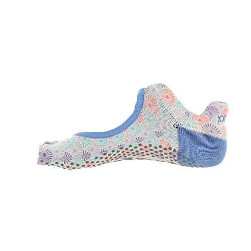 ToeSox Bundle Pack Multicoloured 2 Half Bellarina Toe Women's qgwvxB7q8