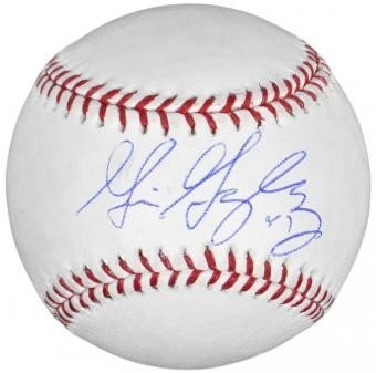 Gio Gonzalez Autographed Signed Official Major League Baseball - Full Name - JSA