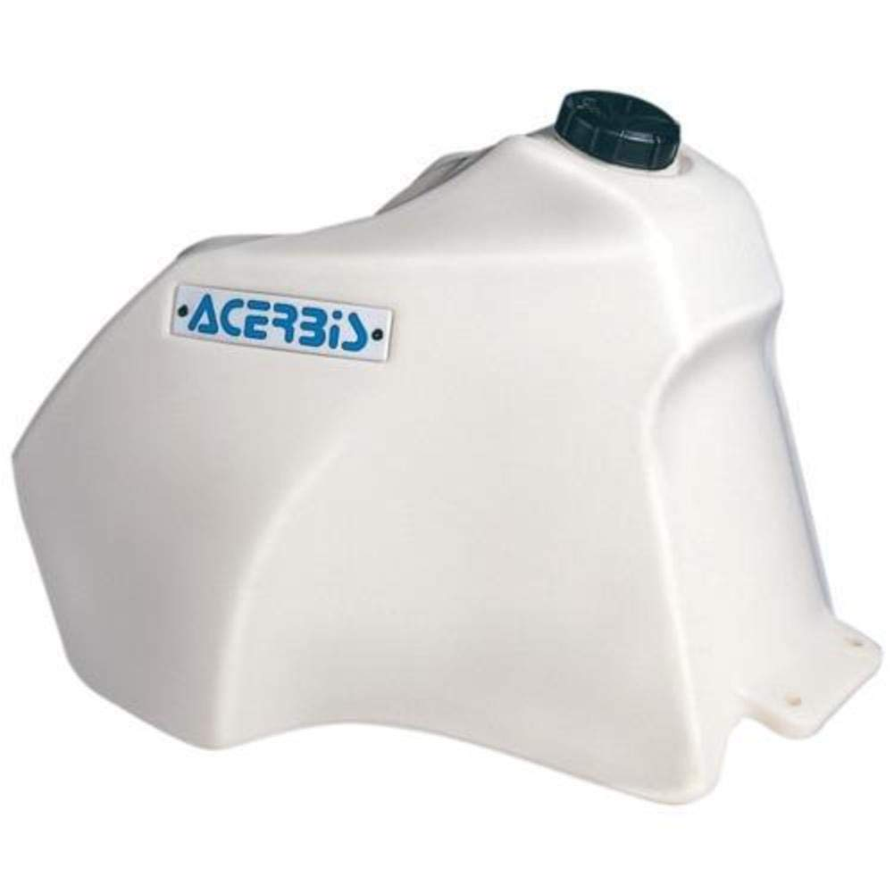 4.25 Gallon White No California Acerbis Fuel Tank No California Shipping Fits: Suzuki DR350 1990-1999