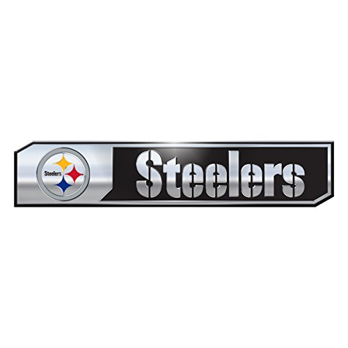 NFL Pittsburgh Steelers Truck Emblem, 2-Pack