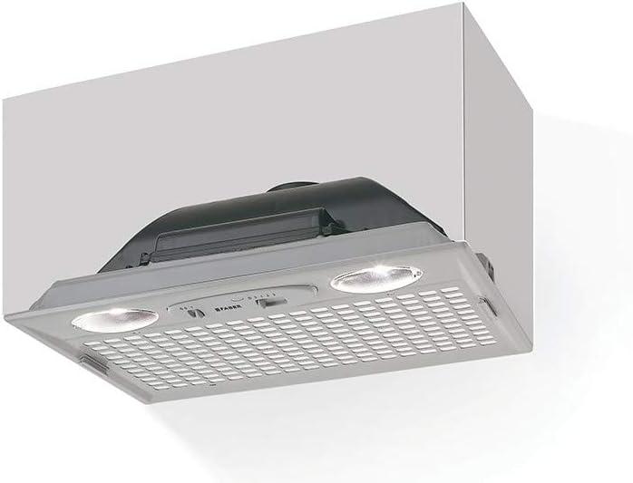 Faber Inca Smart LG A52 300 m³/h Encastrada Gris D - Campana (300 m³/h, Canalizado, E, D, D, 67 dB): Amazon.es: Hogar