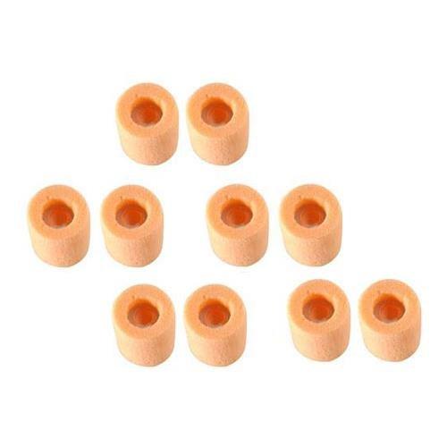 (Shure EA210L Replacement Foams (Orange) for Shure E2c, E2c-n, E2g, I2c and QuietSpot Headsets - Large)