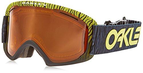 Oakley OO7045-25 O2 XL Eyewear, Factory Pilot Bengal Yellow, Persimmon Lens by Oakley