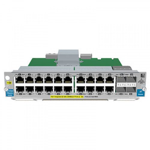 HP 20-Port Gig-t PoE+/2-Port SFP+ v2 zl Module (J9536A) by HP