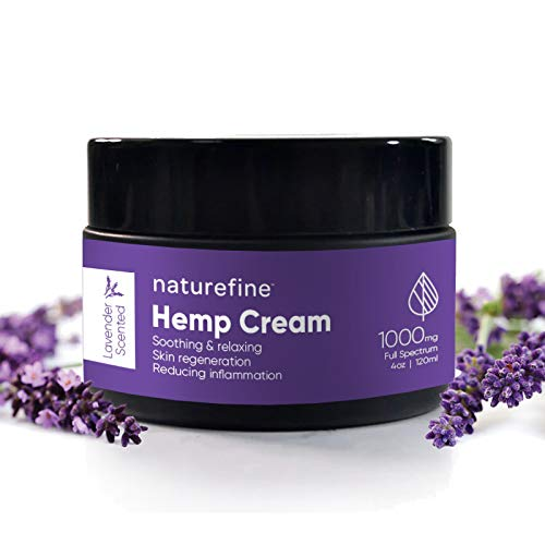 Hemp oil face and neck moisturizer