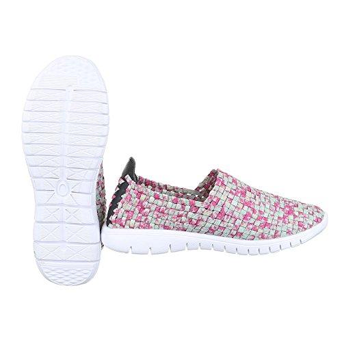 11 Pantofole design Ital Multi Donna Dsc002 Grün 41wqa6