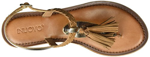 Inuovo 7234, Tongs Femme Or (Gold-coconut 16781709)