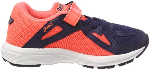 Asics Amplica PS, Zapatillas de Running Para Niños Multicolor (Indigo Blueindigo Blue Flash Coral)