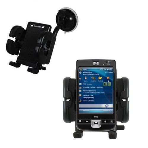 Gomadic Windshield Vehicle Mount Cradle suitable for the ...