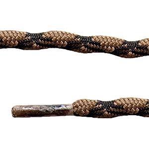 Altus 6900008133 - Par cordones de 150 cm, antiperdida, unisex, color marrón, talla única 8