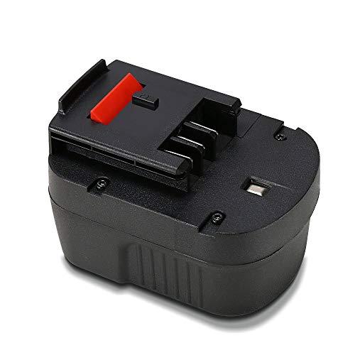 - POWERAXIS 12V 3.0Ah HPB12 NI-MH Rechargeable Battery for Black & Decker 12v Battery FS120B FSB12 HPB12 A12 A12-XJ A1712 A12EX FS120BX Black and Decker 12v Battery