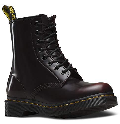 (Dr. Martens Womens 1460W Originals Eight-Eye Lace-Up Boot, Cherry Red, 10 M US/8 UK)