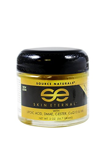 Source Naturals Skin Eternal Cream Moisturizing Skin Food With C-Ester, DMEA, Lipoic Acid & More - 2 ()