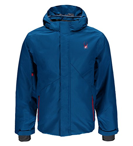 Spyder Transport Ski Jacket, Concept Blue, Large (Spyder Men Ski Jacket)