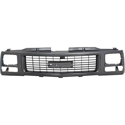 Grille Assembly compatible with Gmc C/K Full Size P/U 88-93 Paint
