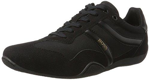 BOSS Casual Herren Pulse_Runn_mx1 10198886 01 Sneaker Schwarz (Black)