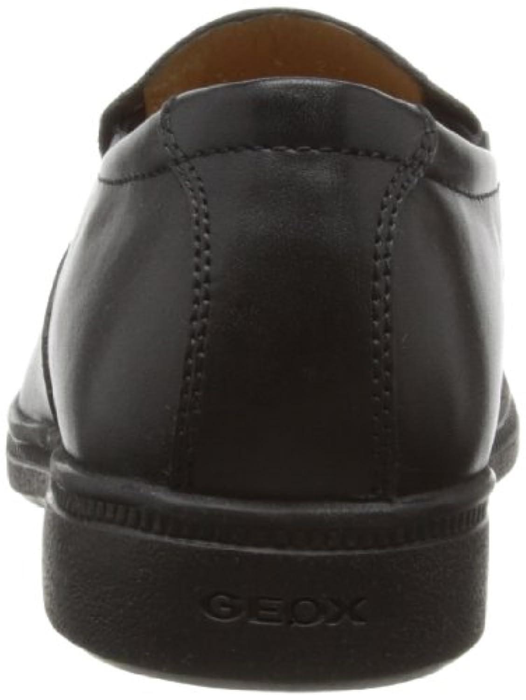 Geox Boys J Federico N Loafers J24D1N43C9999 Black 1 UK, 33 EU
