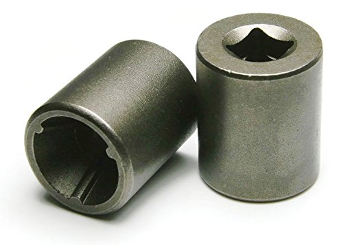 Tri-Groove Tamper Proof Screw and Security Nut Driver Sockets #10 - QTY 10 by RAW PRODUCTS CORP