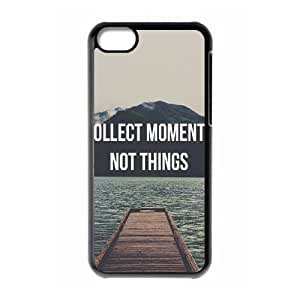 Quotes Pattern Use Your Own Image Phone Case for Iphone 5C,customized case cover ygtg-351205