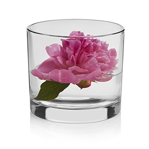 Libbey Capstan Cylinder 4-Piece Glass Vase Set, 4 for $<!--$29.99-->