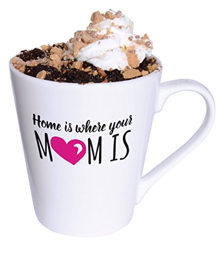 Molly amp Drew Mug Cakes 11 Ounce Home is Where Your Mom is