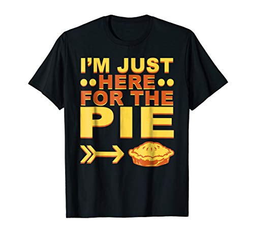Pumpkin Pecan Cherry Pie Funny Thanksgiving T Shirt Clothes ()