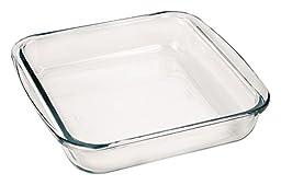 Marinex Bakeware Square Glass Roaster, 9-5/8\