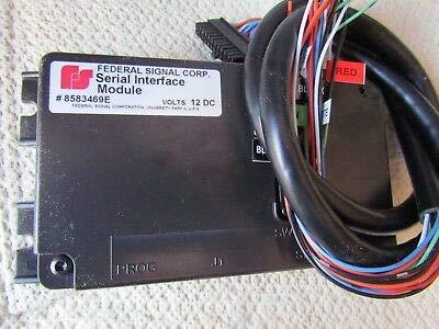 Federal Signal Lightbar Interface Module - 8583469E (Signal Light Federal)