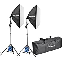 Slow Dolphin 1050W Professional Photography 24x24/60x60cm Softbox Lighting Kit for Photo Studio Photography