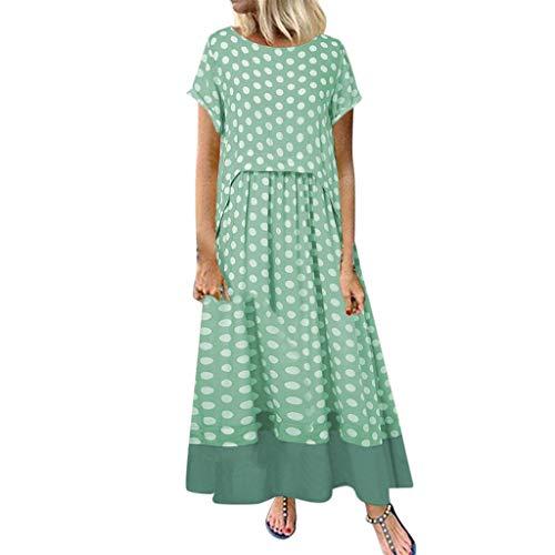 Mujer Verano De Playa Vestido Estampado Vestido De Lino ...