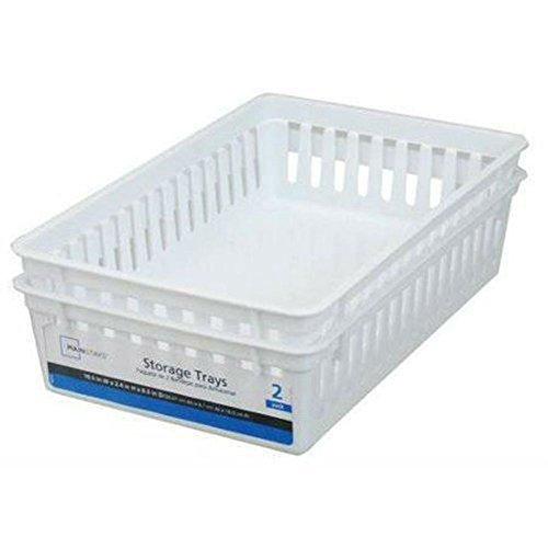 mainstays mini storage trays - 7