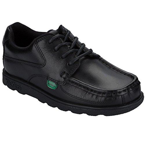 Kickers Boy's Fragma Lace Shoe US1 Black
