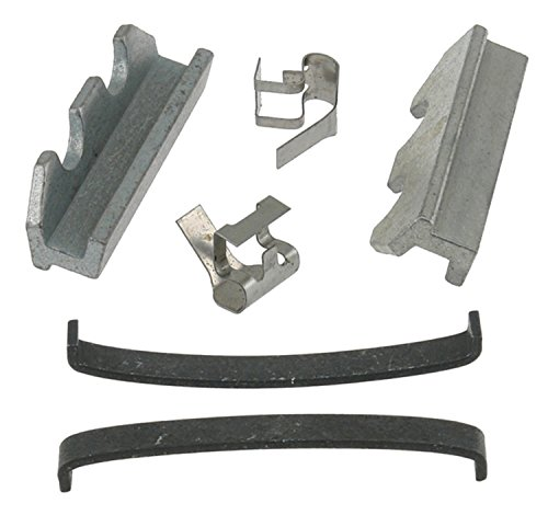 ACDelco 18K233X Professional Front Disc Brake Caliper Hardware Kit with Clips, Springs, and Keys