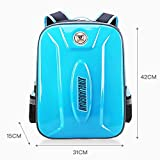 Large Capacity Trolley Bag Boy Girl Primary School (6-12 Years Old) Waterproof EVA Backpack Detachable Three-Wheeled Trolley Backpack Decompression Ridge Can Climb Stairs (Suitable For Grades 3-6),D