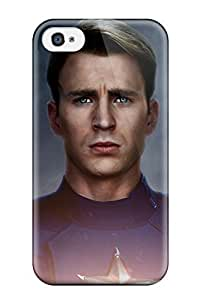 1847888K84544001 New Fashionable Cover Case Specially Made For ipod touch 4(captian America The Avengers 2)
