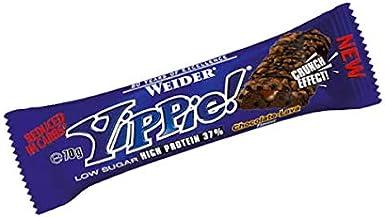 Weider Yippie - 12 barritas x 70 gr Cacahuete-Caramelo ...