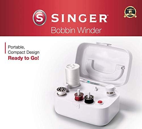 SINGER Bobbin Winder, White