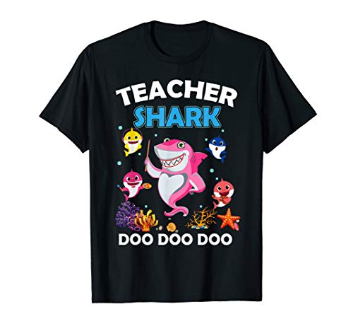 Teacher Shark Tshirt Doo Doo Doo Tee Gift For -